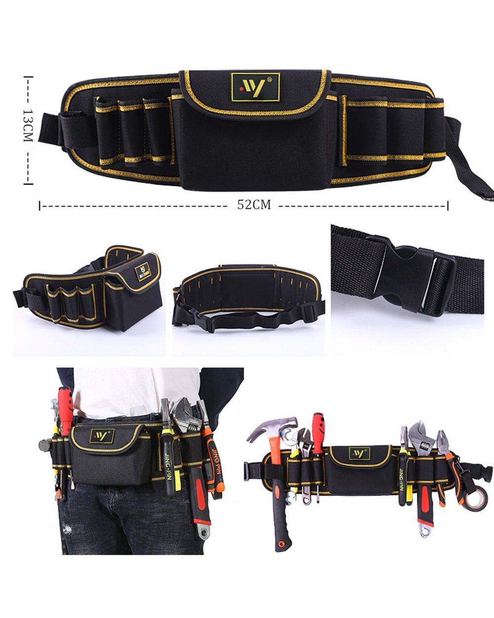 Multi-function Waist Pack Repair Bag: Best Tool Bag for Electricians  front-1