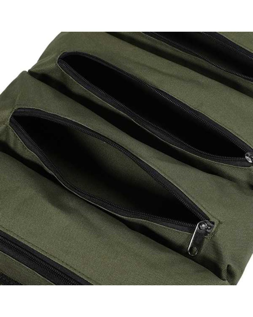 Multi-Purpose Zipper Carrier Roll Up Tote: Best Tool Pouch for Electricians  front-5