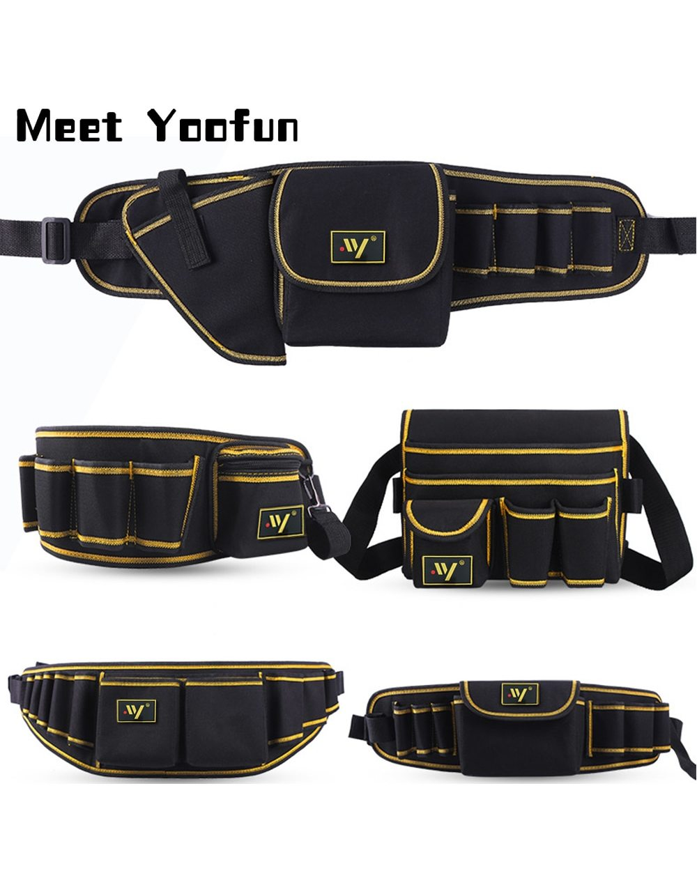 Multi-function Waist Pack Repair Bag: Best Tool Bag for Electricians  front-0