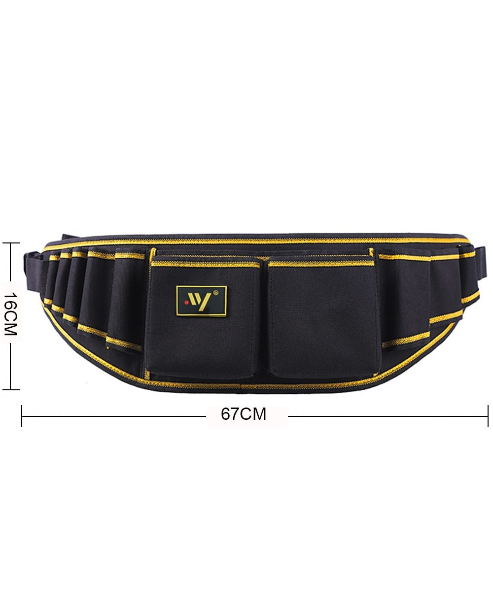 Multi-function Waist Pack Repair Bag: Best Tool Bag for Electricians  front-3