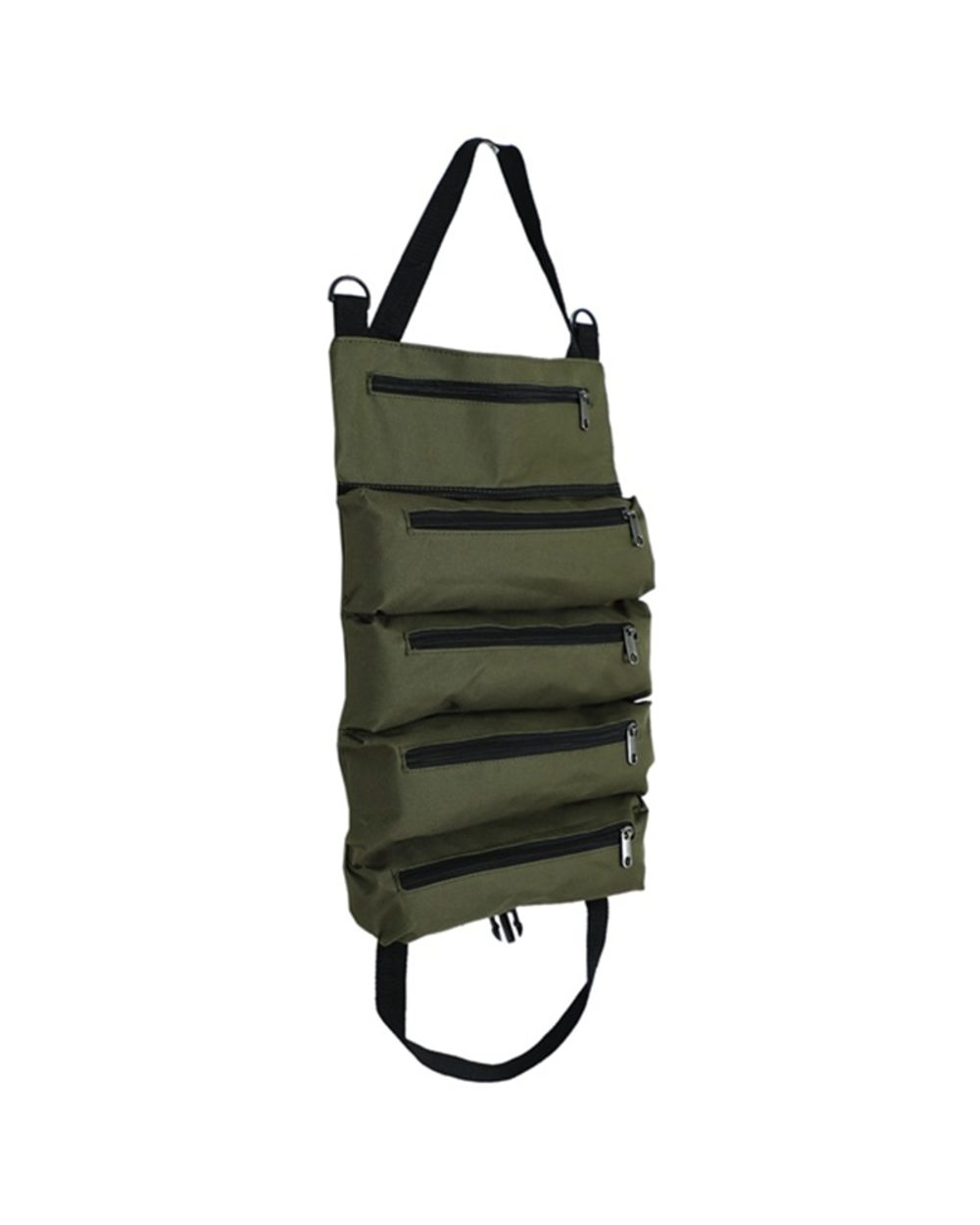 Multi-Purpose Zipper Carrier Roll Up Tote: Best Tool Pouch for Electricians  front-1